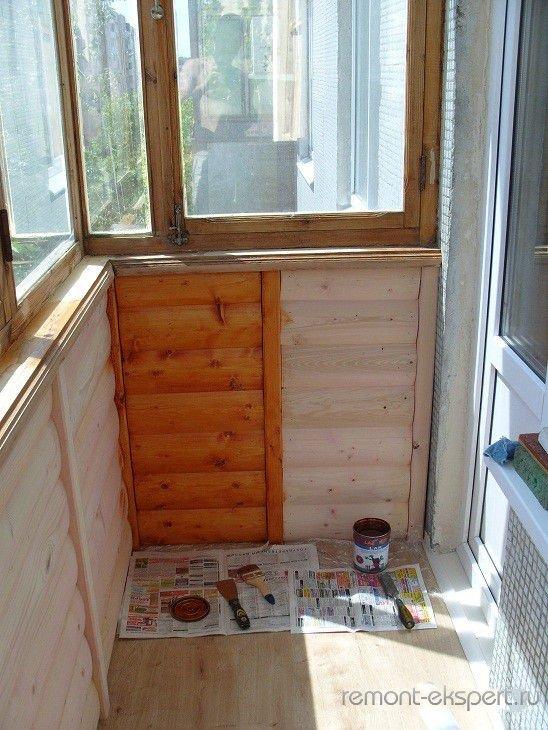 Как экономно сделать ремонт на балконе своими руками 1