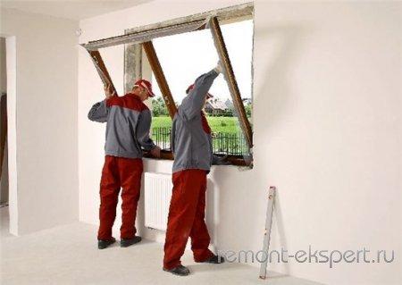 Вставляем окна своими руками