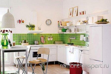 Дизайн кухни пол