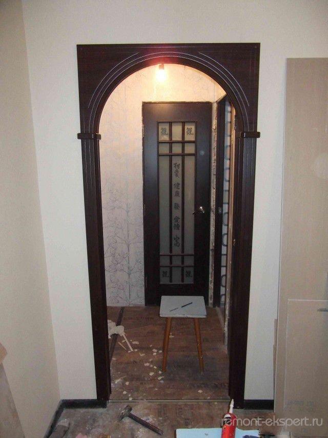 двери фото кухне арка вместо на