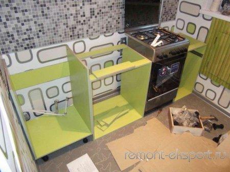 Ремонт кухни и кладовки своими руками
