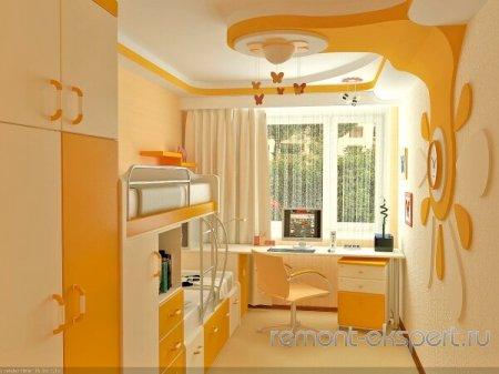 Обустройство и дизайн детской комнаты
