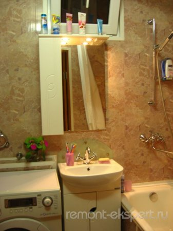 Ванная после ремонта — интимный личный уголок