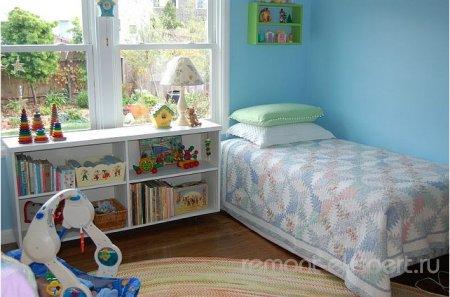 Светлая и незахламленная детская комната