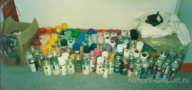 Выбираем цвет краски