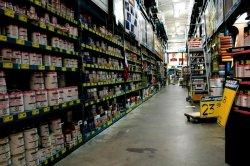 Гипермаркеты поражает ассортиментом стройматериалов