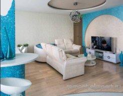 современный интерьер просторной квартиры