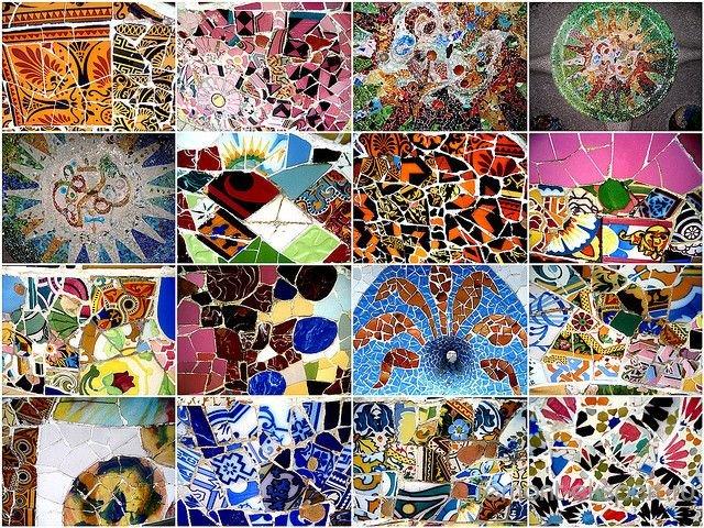 варианты отделки мозаикой
