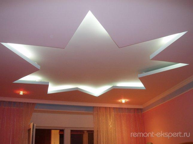потолок в квартиру
