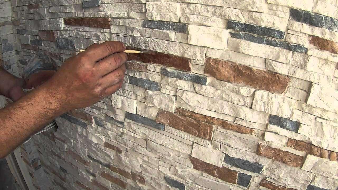 Декоративный кирпич своими руками покраска фото 723