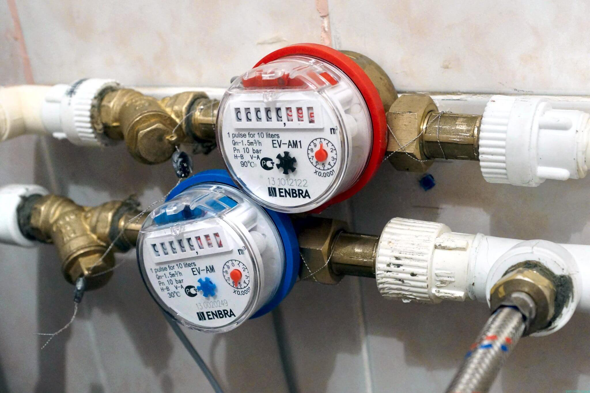 Схема установки водосчетчика в квартире фото 457