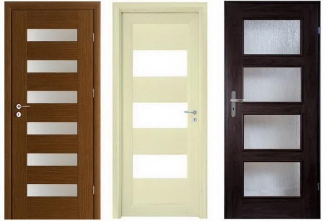 цвет дверей зависит от интерьера