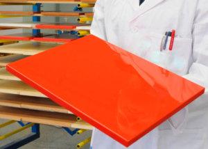 Что такое порошковая окраска МДФ плит