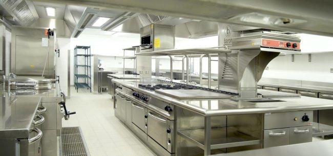 Оснащение кухонь заведений общественного питания