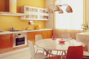 Цвета в оформлении кухни