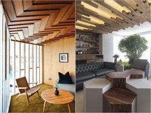Интерьер потолков - варианты для разных помещений, советы