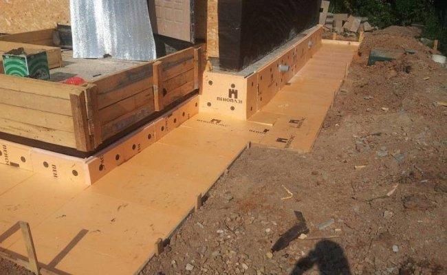 Утепление фундамента старых домов из дерева