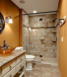 Как визуально увеличить небольшую ванную комнату