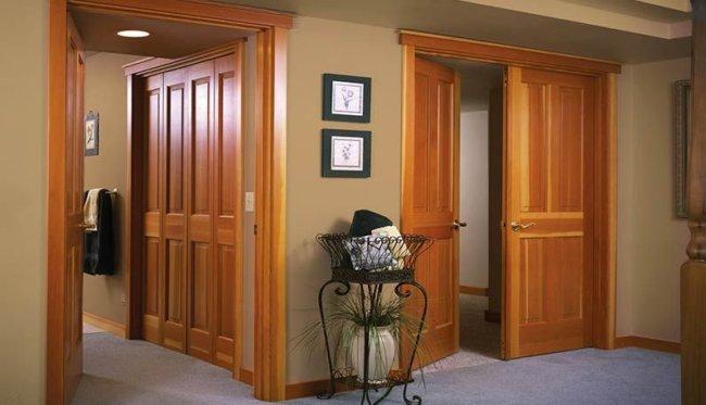 Недостатки ламинированных межкомнатных дверей