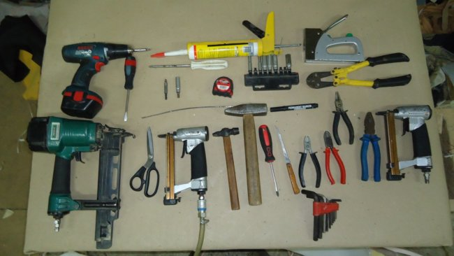 Материалы и инструменты для самостоятельного монтажа