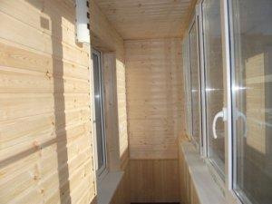 Как использовать вагонку для внутренней отделки балконов
