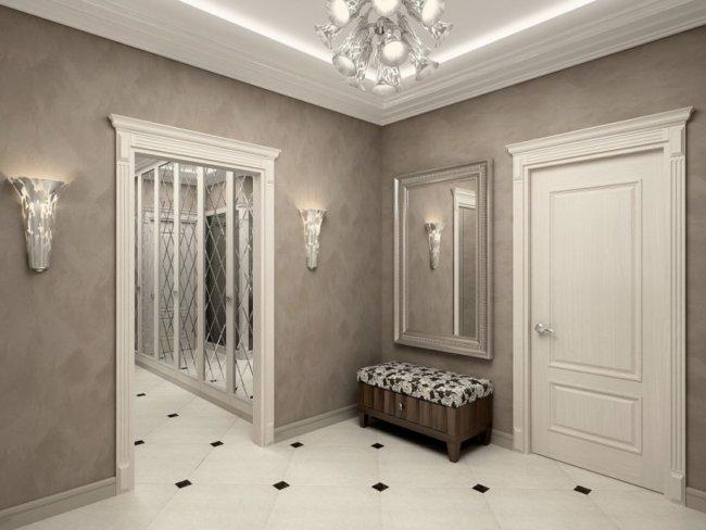 Чем отделать пол в коридоре