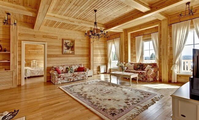 Стили для отделки частного дома внутри