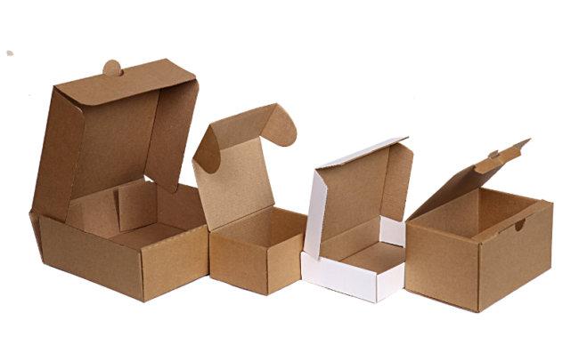 самосборная коробка из картона