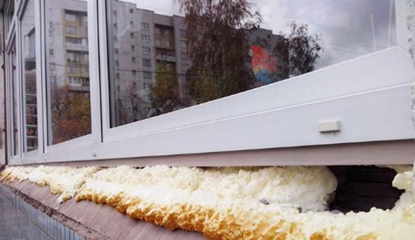 Неправильный монтаж окна