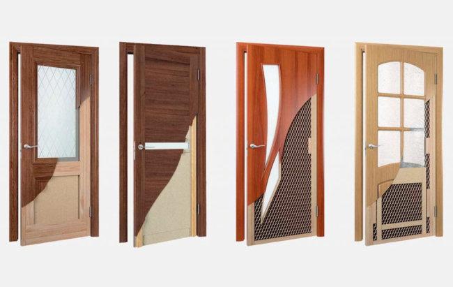 покрытие межкомнатные двери