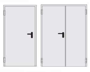 технических дверей